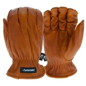 Husky Oil/Water Resistant Leather Driver Gloves